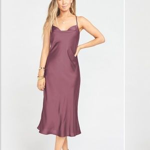 Show Me Your MuMu Verona Cowl Dress Size M